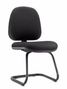Cadeira Escritório Gerente Fixa Aproximação Lyon Home Office