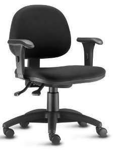 Cadeira para Escritório Secretária Sena Giratória Home Office