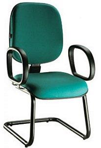 Cadeira Escritório Diretor Fixa Continua Aproximação Home Office