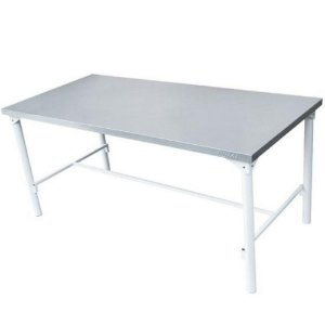 Mesa em Aço Inox de Manipulação 1,90 x 0,70 x 0,85 m Restaurante Cozinha