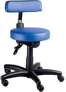 Cadeira Mocho Ergonômica Giratória Dentista Clinica Estética Tatuador