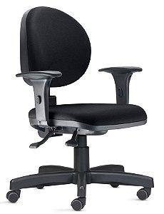 Cadeira Escritório Giratória 323 Ergonomica Braços Regulaveis