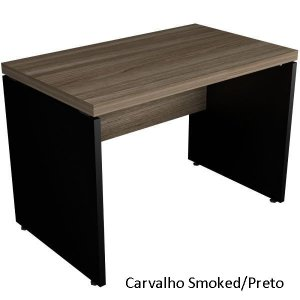 Mesa Reta Escritório 1,60 x 0,70 m 40 mm Corporativa Home Office Escrivaninha