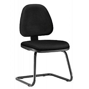 Cadeira Sky Executiva Fixa Escritório Atendimento Cantilever Aproximação