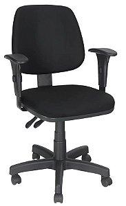 Cadeira Job Executiva Ergonômica  NR17 Braços Reguláveis Giratória
