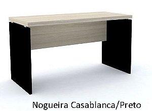 Mesa Reta Escritório 1,80 x 0,70 m 40 mm Corporativa Home Office Escrivaninha Gerente Diretoria | Pronta Entrega