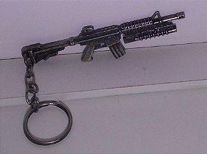 Chaveiro Fuzil M16 Rustico