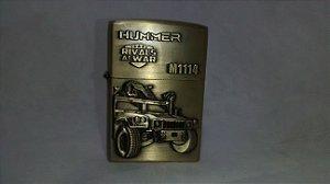 Isqueiro Hummer Recarregável - Tipo zippo
