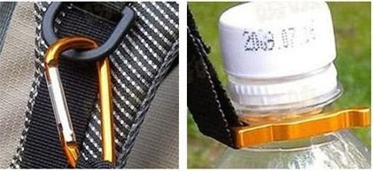 Chaveiro kit hiking - Apito Abridor e Porta garrafa dagua