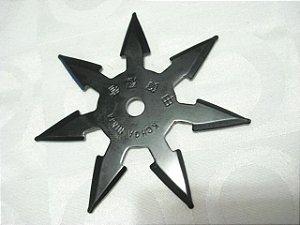 Estrela Ninja shuriken 7 pontas