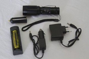 Lanterna Tática Policial Recarregável Led T6 Melhor Que X900
