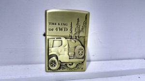 Isqueiro The King OF 4WD - Tipo zippo