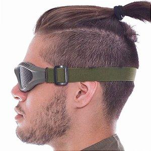 Óculos de proteção Airsoft tela Preto