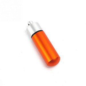 Capsula Estanque de Alumínio - Aprova dagua - laranja