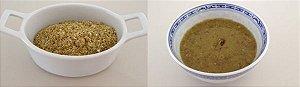 Caldo de mocotó - comida pronta Liofilizado, ração militar