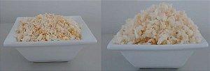 Arroz com cenoura - comida pronta Liofilizado, ração militar