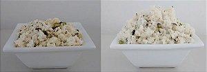 Arroz com brócolis - comida pronta Liofilizado, ração militar