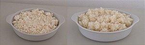 Arroz branco - comida pronta Liofilizado, ração militar