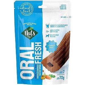 Snacks Oral Fresh Nats para Cães de Raças Pequenas 7 Unidades - 70g