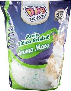 AREIA SILICA CRISTAL COM AROMA DE MAÇA 1,6KG