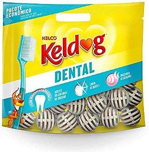 Osso Dental Keldog Tradicional Bola 350g