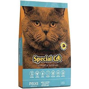 RAÇÃO SPECIAL CAT SABOR PEIXE PARA GATOS ADULTOS