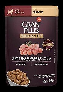 Ração Úmida Affinity PetCare GranPlus Sachê Gourmet para Cães Filhotes Frango - 85g