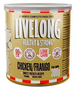 Alimento Natural Livelong Sabor Frango para Cães - 300G