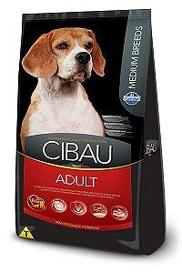 Ração Farmina Cibau Adult para Cães Adultos de Raças Médias - 25kg