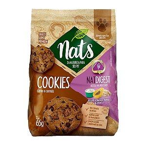 Biscoito Cookies Nats para Cães Natdigest - 65g