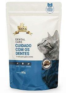 Snacks Hana Healthy Life Dental Care para Gatos Adultos - 60g
