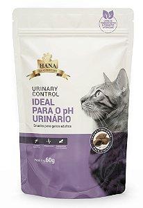 Snacks Hana Healthy Life Urinary Control para Gatos Adultos - 60g