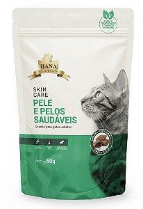 Snacks Hana Healthy Life Skin Care para Gatos Adultos - 60G