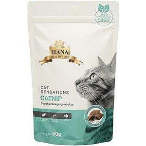 Snacks Hana Healthy Life Sensations Catnip para Gatos Adultos - 60G