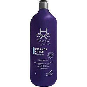 Shampoo Pet Society Hydra Groomers Pro Pelos Claros para Cães e Gatos - 1L