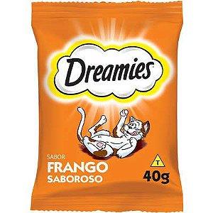Petisco Dreamies Frango Para Gatos Adultos - 40g