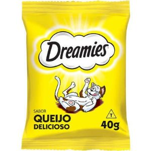 Petisco Dreamies Queijo Para Gatos Adultos - 40g