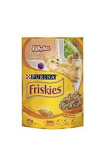 Ração Nestlé Purina Friskies Sachê Frango ao Molho para Gatos Filhotes - 85g