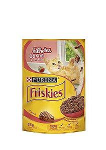 Ração Nestlé Purina Friskies Sachê Carne ao Molho para Gatos Filhotes - 85g