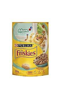 Ração Nestlé Purina Friskies Sachê Atum ao Molho para Gatos - 85g