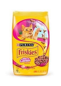 Ração Seca Nestlé Purina Friskies Mix de Carnes para Gatos Adultos