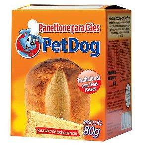 PANETTONE PARA CÃES PET DOG 80G
