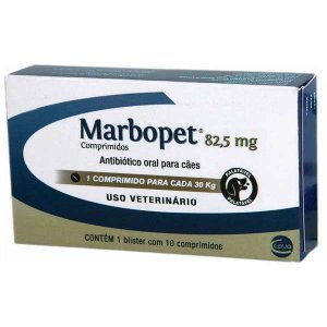 MARBOPET 82,5MG - 10 COMPRIMIDOS