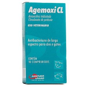 ANTIBIÓTICO - AGEMOXI CL 50MG - 10 COMPRIMIDOS