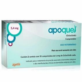 ZOETIS APOQUEL 5.4 MG