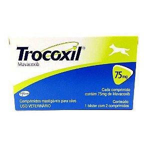 ZOETIS TROCOXIL 75MG - 2 COMPRIMIDOS