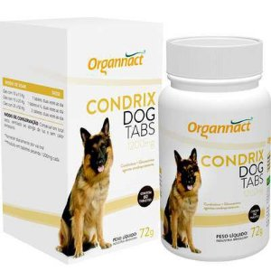 SUPLEMENTO - ORGANNACT CONDRIX DOG TABS 1200MG - 60 TABLETS