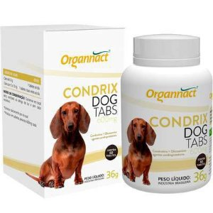 SUPLEMENTO - ORGANNACT CONDRIX DOG TABS 600MG - 30 TABLETES