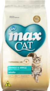 RAÇÃO TOTAL MAX CAT PROFESSIONAL LINE SABOR FRANGO PARA GATOS ADULTOS