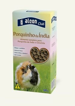 ALIMENTO ALCON CLUB PORQUINHO DA INDIA 500G